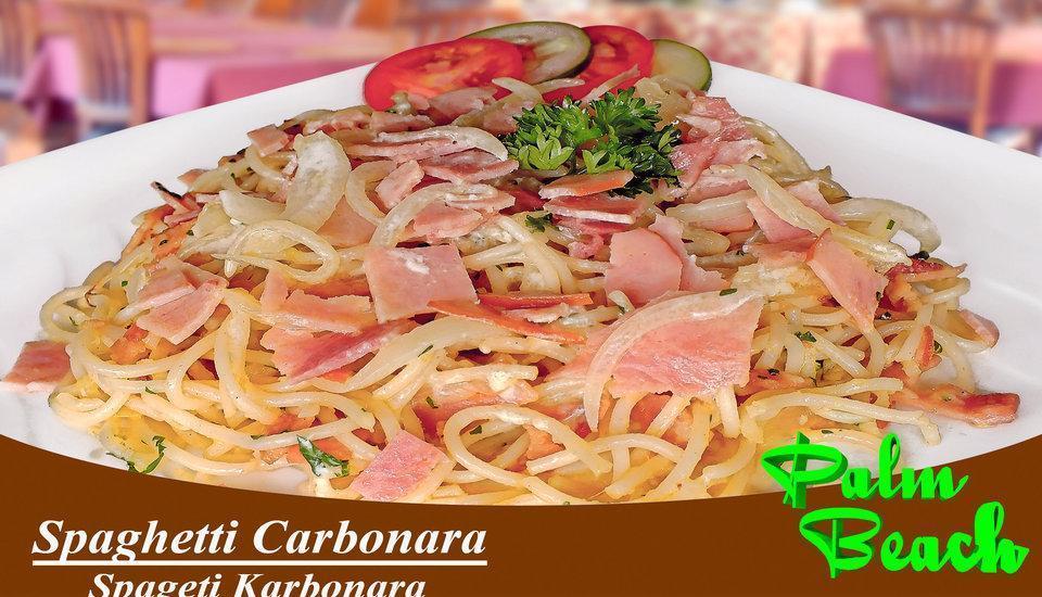Palm Beach Hotel Kuta  - Spaghetti Carbonara