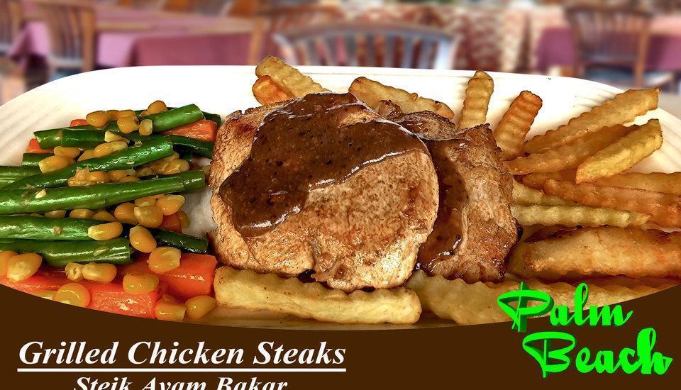 Palm Beach Hotel Kuta  - Chicken Steak