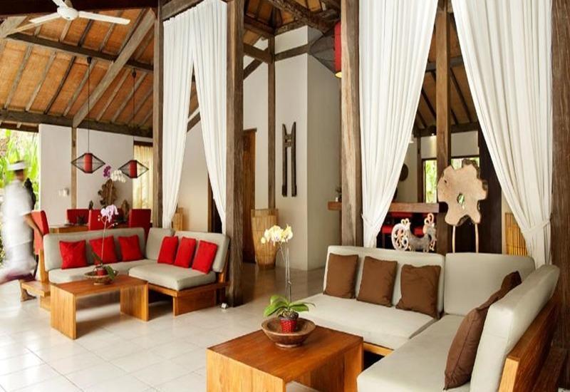 Esterin Villa Bali - Ruang tamu