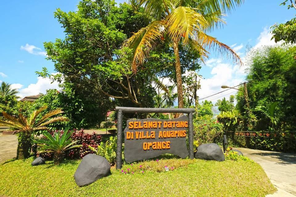 Aquarius Orange Resort Bogor - Entrance