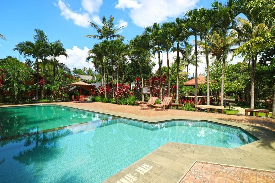 Aquarius Orange Resort Bogor - Swimming Pool
