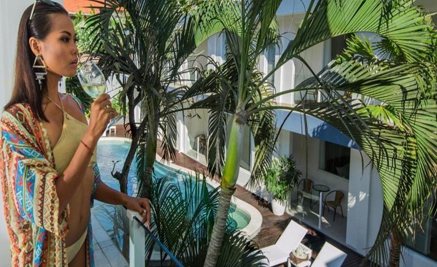 Coast Boutique Apartments Bali - Balkon