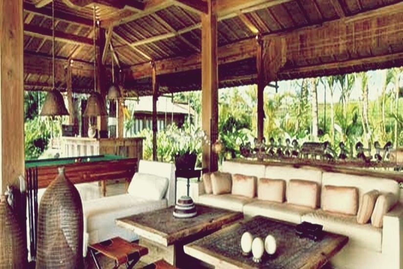 Tangguntiti Villas Bali - Teras