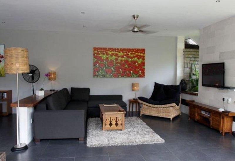 Scallywags Anyar Estate Bali - Ruang tamu