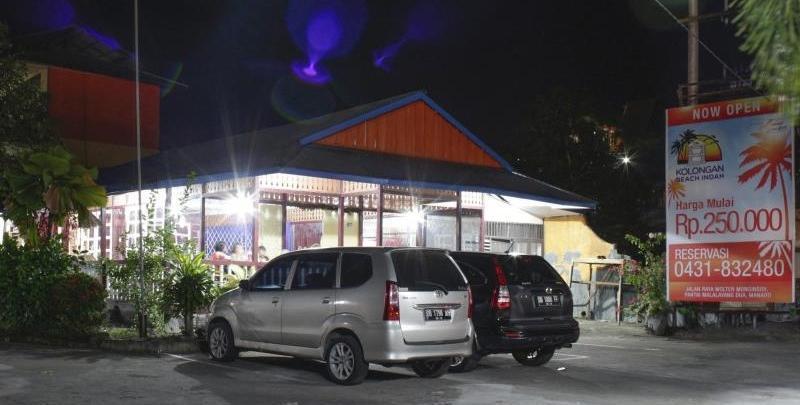 Kolongan Beach Hotel Manado - area parkir