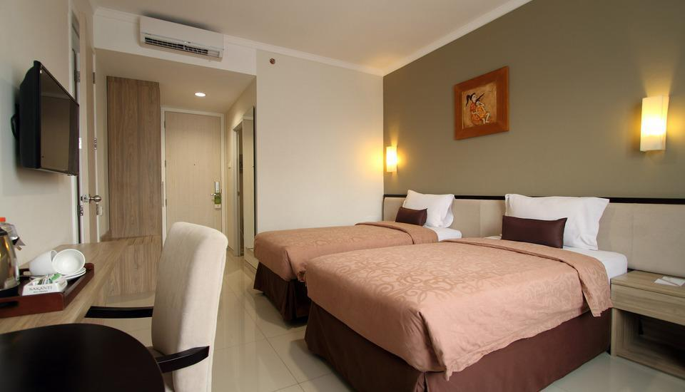 Sakanti City Hotel Yogyakarta - Deluxe Room Room Only SUPER SALE