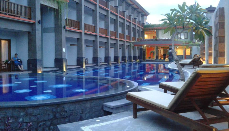 Grand Sinar Indah Bali - Pemandangan Hotel