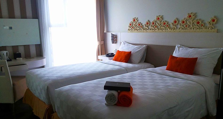 Kamar penginapan di The Edelweiss Hotel Yogyakarta