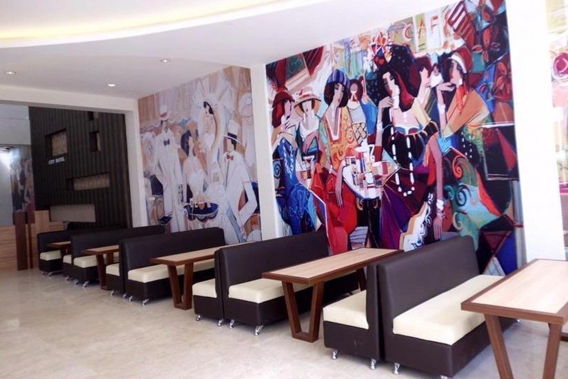 City Hotel Tasikmalaya - Ruang makan