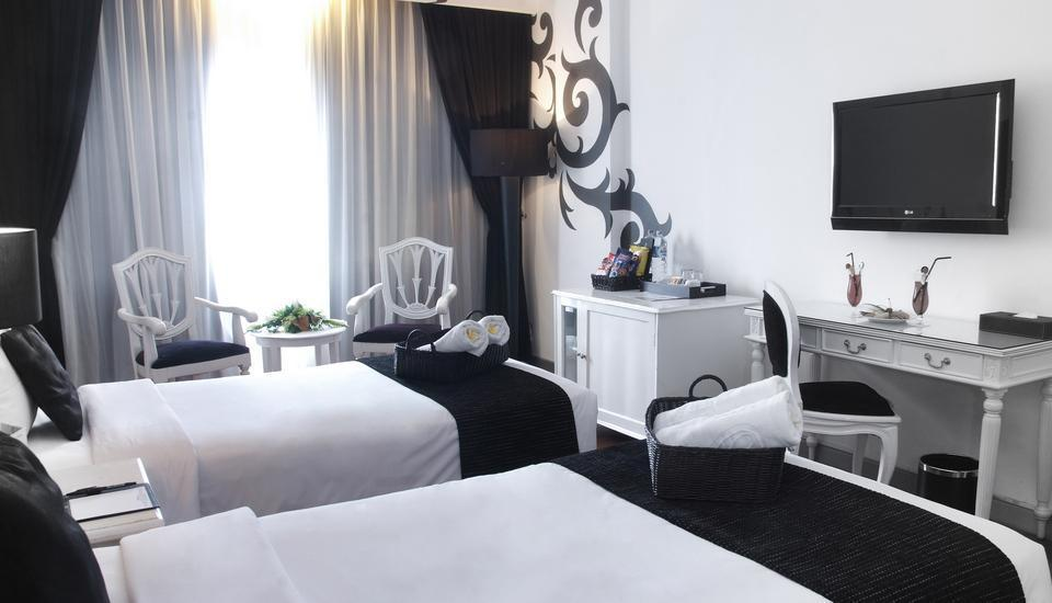 J Boutique Hotel Kuta - Kamar Executive (2 ranjang single)