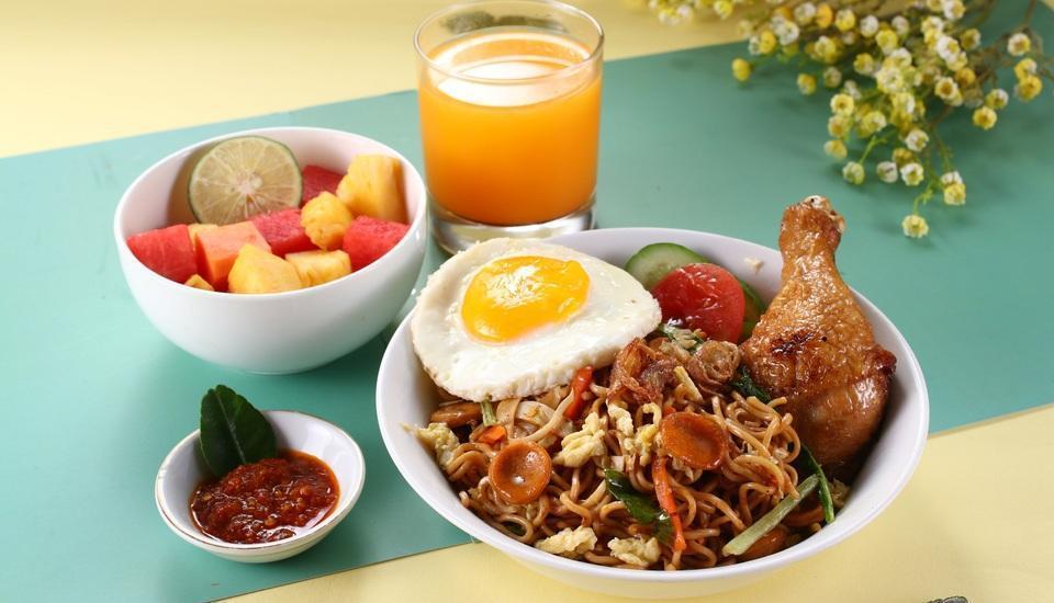 POP Hotel Kemang - Sarapan pagi