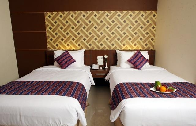 Aerotel Smile Makassar - Deluxe Twin - Room Only Hot Deal !!