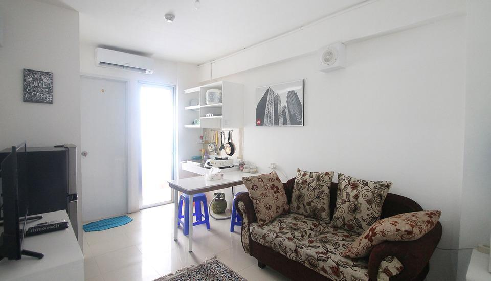 Bassura City Apartment Jakarta - Two Bedroom Regular Plan
