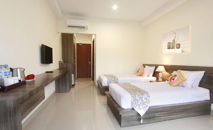 Pesona Krakatau Cottages & Hotel Serang - Kamar tamu