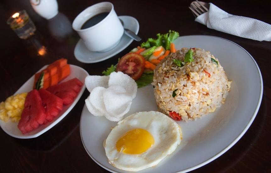 Pesona Krakatau Anyer - Makanan dan minuman