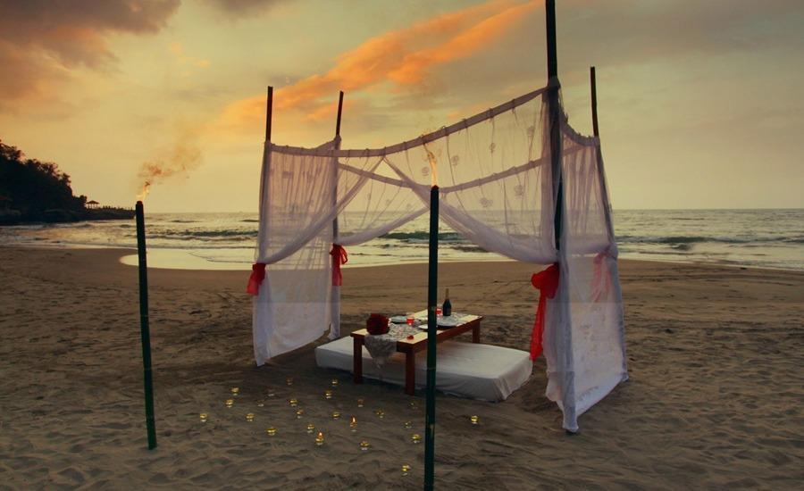 Pesona Krakatau Cottages & Hotel Serang - Pemandangan laut
