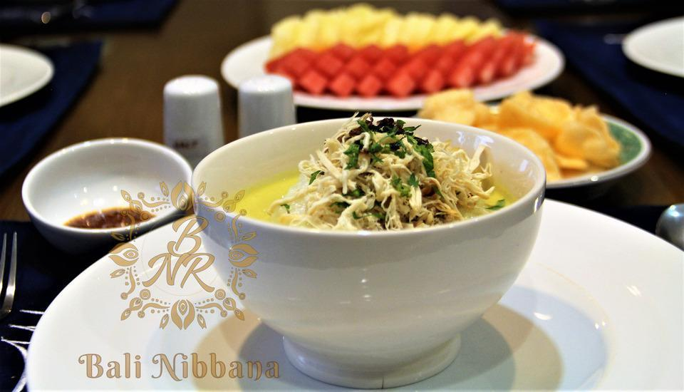 The Nibbana Villas Bali - sarapan 3