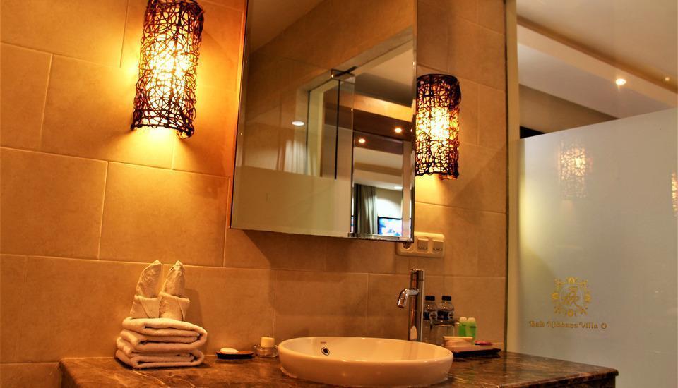 The Nibbana Villas Bali - kamar mandi 2