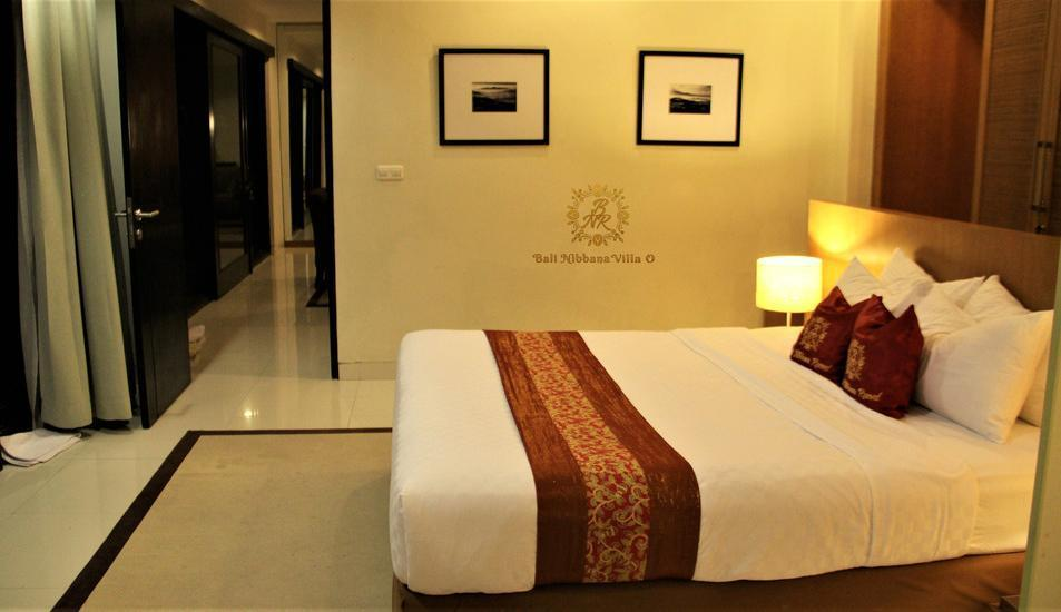 The Nibbana Villas Bali - kamar master 2