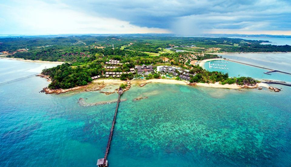 Turi Beach Resort Batam - Turi Beach Arial