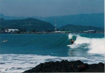 Bayu Amrta Hotel Sukabumi - Surfing - pemandangan dari balkon