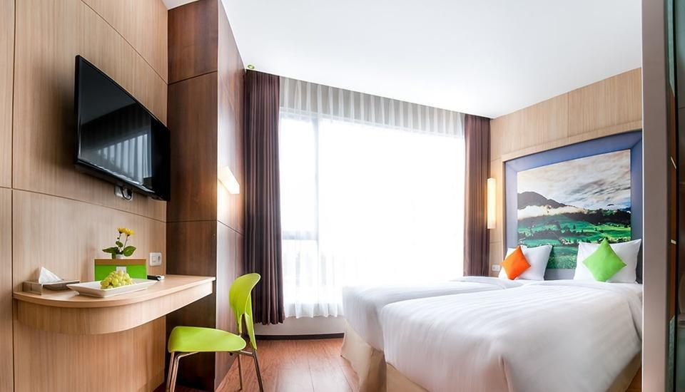Tebu Hotel Bandung - Superior Twin Bed Regular Plan
