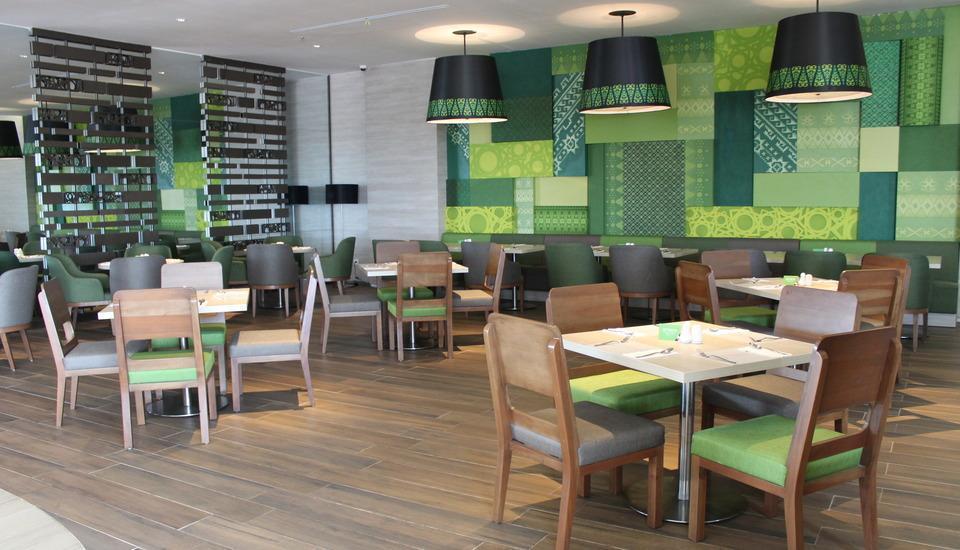 Tangram Hotel Pekanbaru Pekanbaru - Restoran