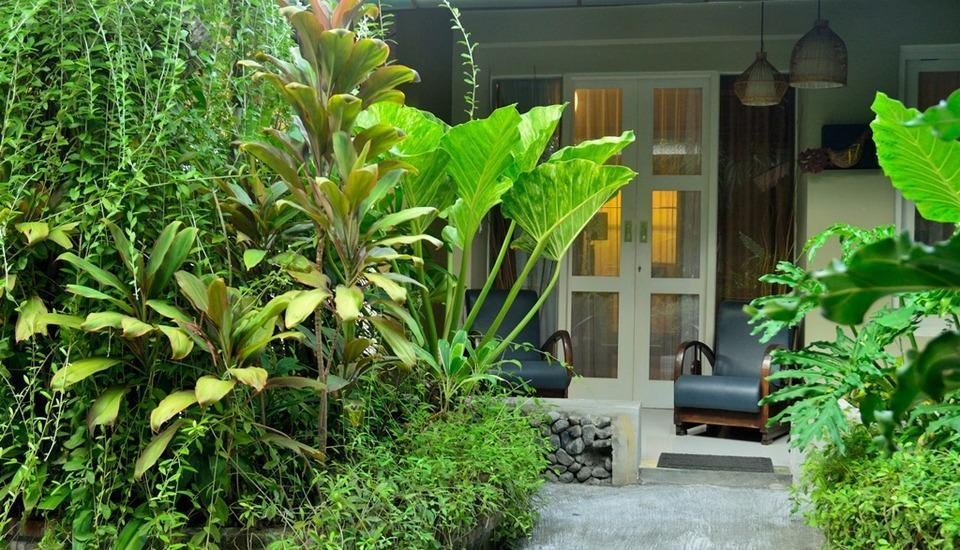 Nyima Inn Bali - Kamar Budget Taman 1