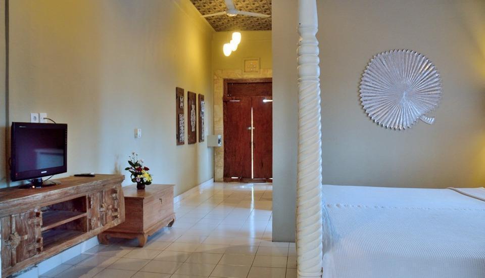 Nyima Inn Bali - Ruang tamu