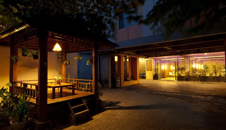 Hotel Bintang Solo - gazebo