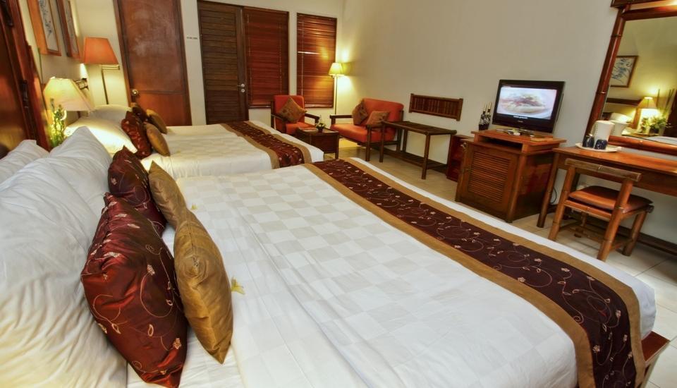 Pondok Sari Hotel Bali - Family Room PENAWARAN SPESIAL 50%