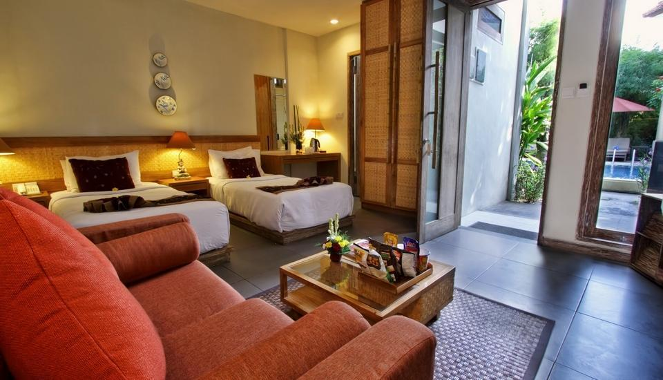 Pondok Sari Hotel Bali - Deluxe Room Only Regular Plan