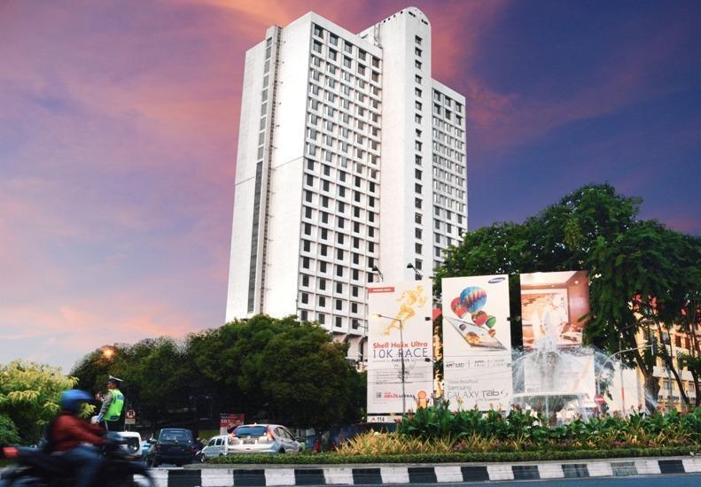 Garden Palace Surabaya - gedung utama