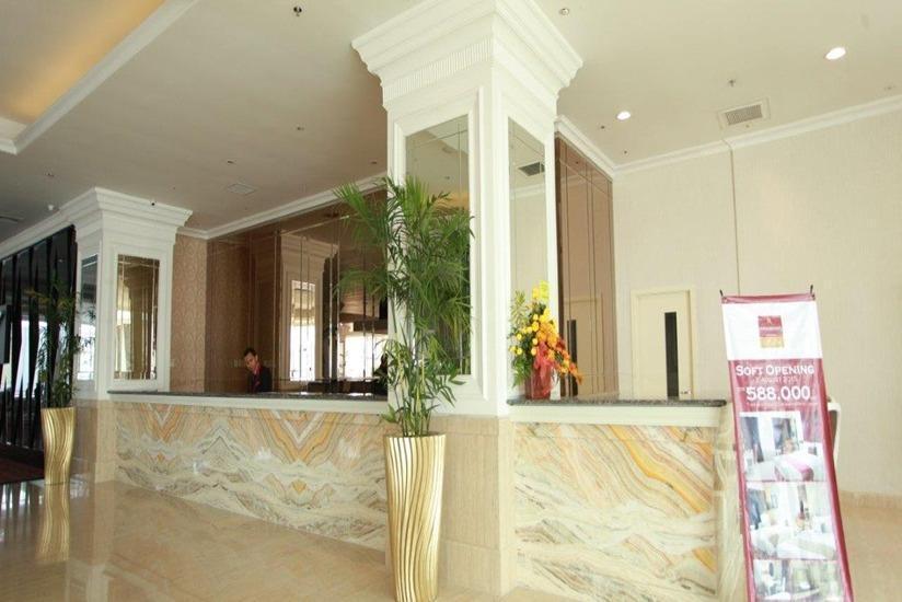 Rich Palace Hotel Surabaya - Resepsionis