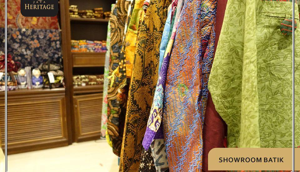 Java Heritage Hotel Purwokerto Purwokerto - Showroom Batik