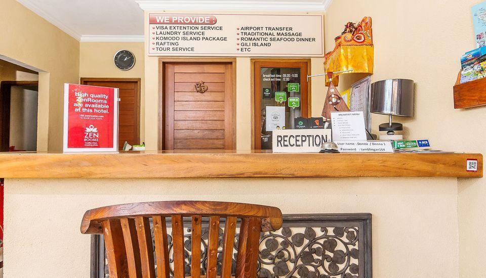 ZenRooms Tamblingan Sanur Homestay Bali - Resepsionis