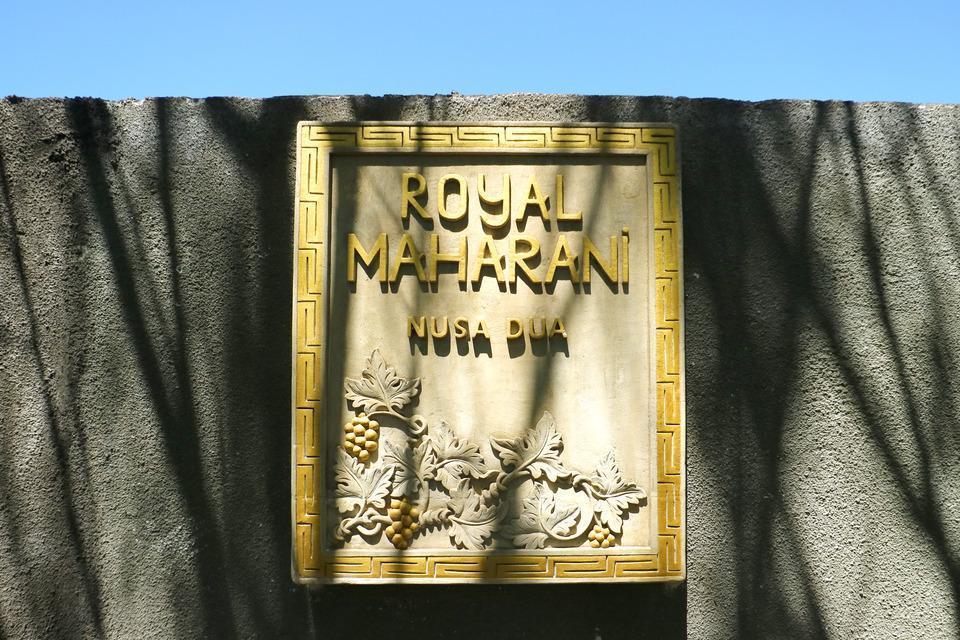 Royal Maharani Nusa Dua Bali - Sign Board