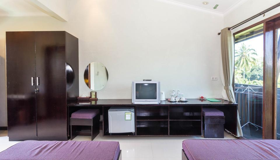 RedDoorz Plus @ Tjampuhan Ubud Bali - RedDoorz Room Regular Plan