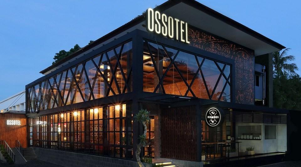 Ossotel Legian Bali - Luar Hotel