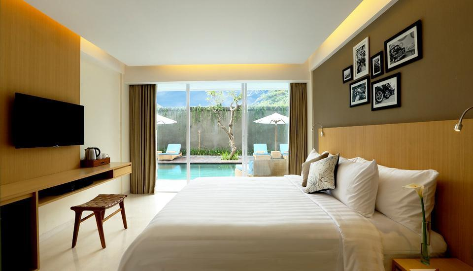 Ossotel Legian Bali - Deluxe Pool Room Only Seasonal Offer