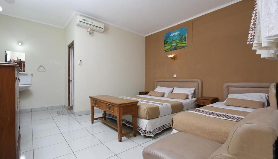 Hotel Mataram 1 Yogyakarta - Family Room 1 Double-Bed 1 Single-Bed Promo Basic