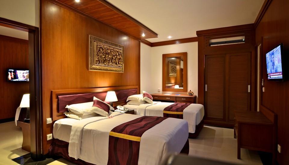 Inna Bali Beach Resort Bali - Deluxe Cottage with Breakfast Long Stays