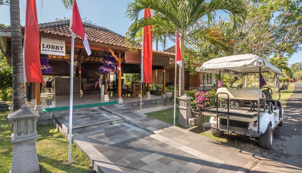 Inna Bali Beach Resort Bali - Deluxe Cottage with Breakfast Special promo