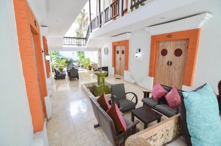 Abian Biu Mansion Bali - lounge