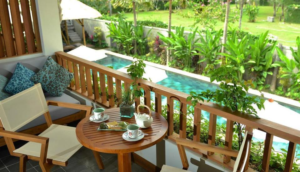 The Open House Bali Bali - Balkon