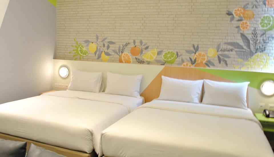 Zest Hotel Sukajadi Bandung - Zest Family Room With Breakfast Regular Plan
