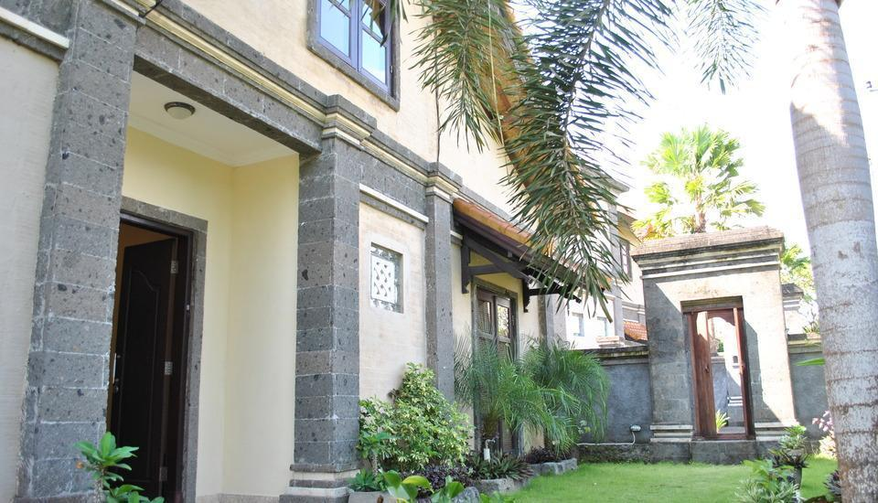 Ocean Valley Village Villas Bali - kebun halaman depan