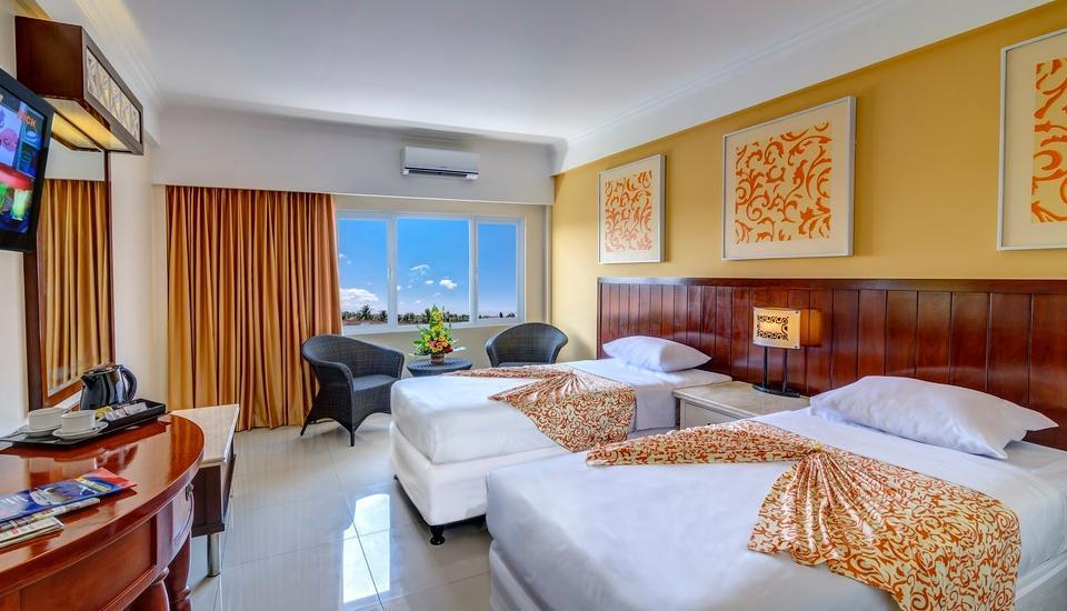 Maharani Beach Hotel Bali - Deluxe Pool View Room Save 45%