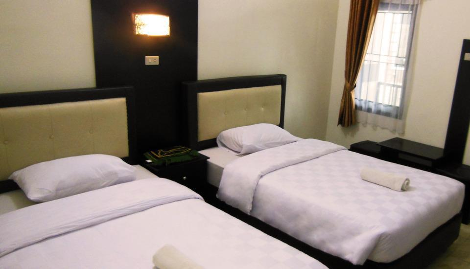 G Hotel Syariah Bandar Lampung - Ruby Deluxe Twin Bed Regular Plan