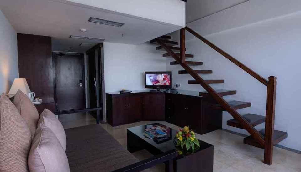 Swiss-Belhotel Segara Bali - Pemandangan Kolam Renang Dupleks 2